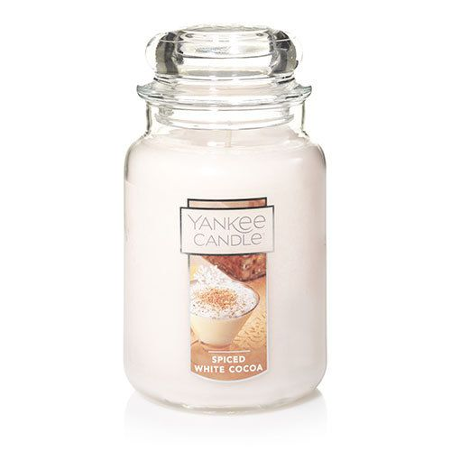 Spiced White Cocoa ... Warm and indulgent with swirls of cocoa topped with a layer of whipped cream and a hint of nutmeg.