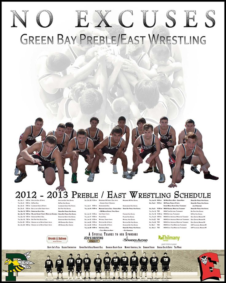 wrestling team poster ideas - Google Search                                                                                                                                                                                 More
