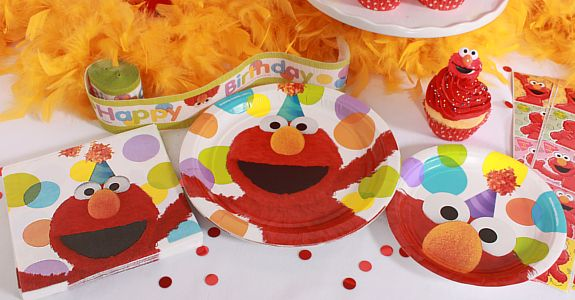 Elmo Birthday Supplies