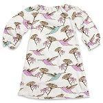 Milkbarn Peasant Dress - Hummingbird