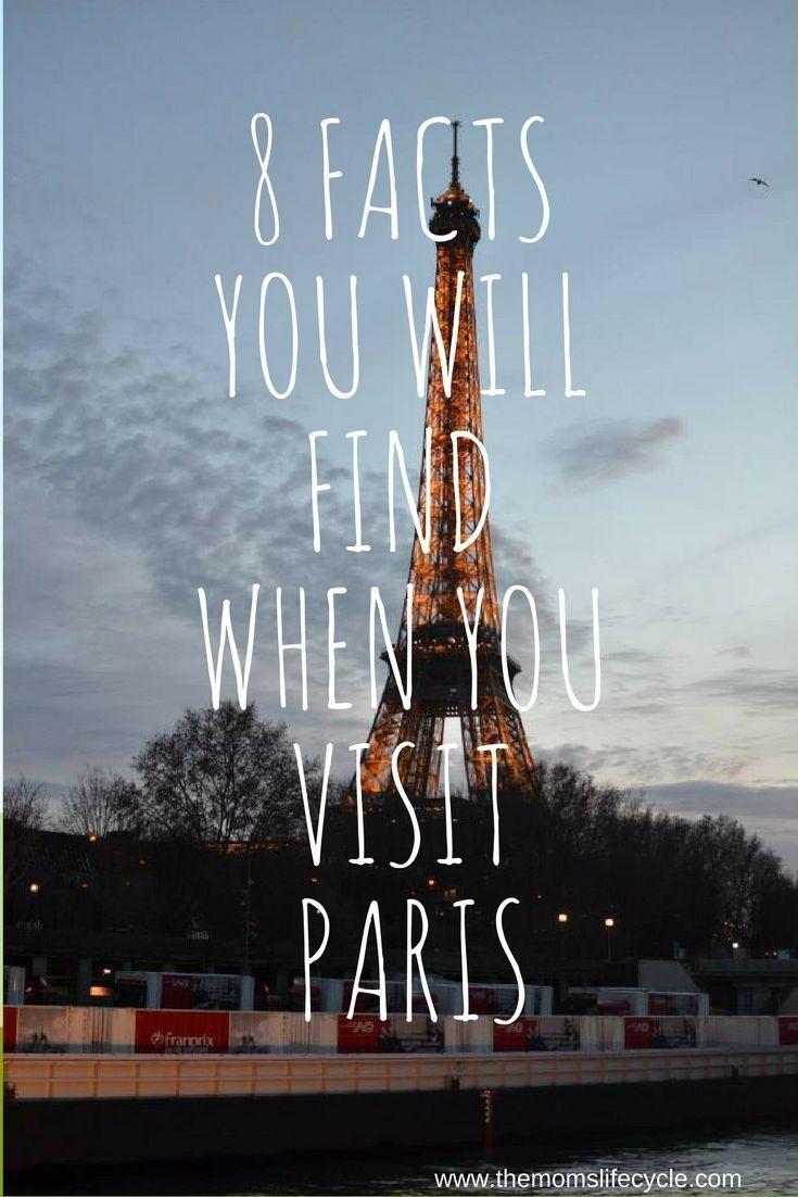 8 Fun Facts that you will find when you visit Paris, France #paris #tourisme #funfacts #France