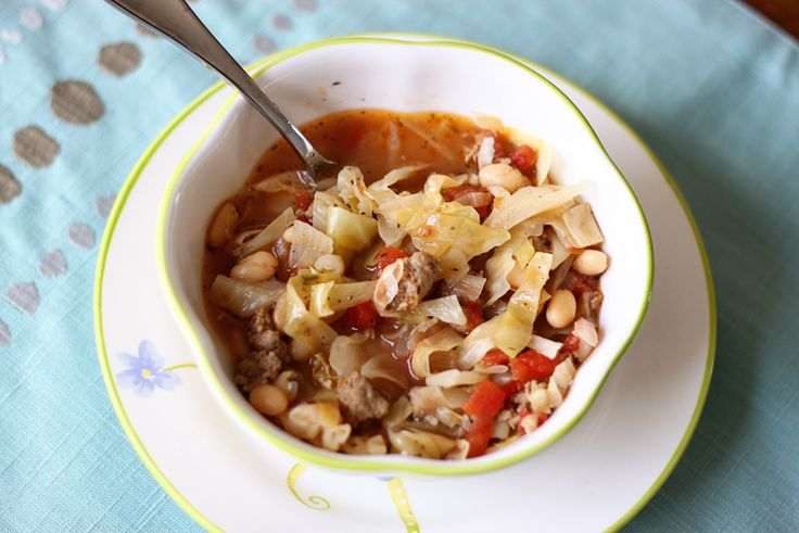 ... Soups, Stews, Chowders on Pinterest | Stew, Cabbage soup and Cabbages