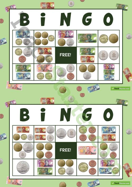 1000 ideas about money bingo on pinterest money activities counting money and money games. Black Bedroom Furniture Sets. Home Design Ideas