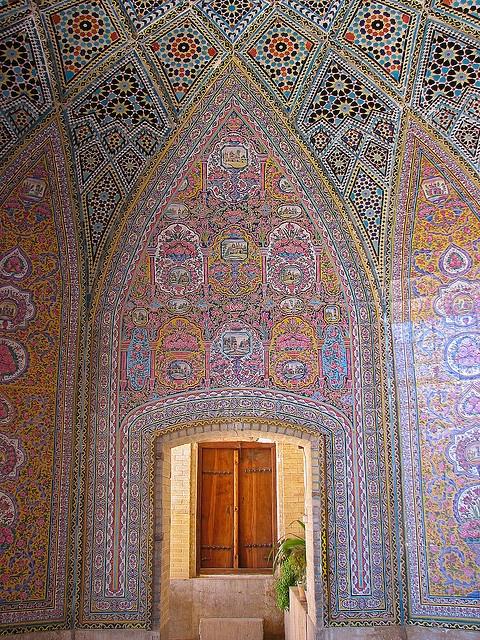 Nasir al Mulk Mosque - Shiraz , Iran