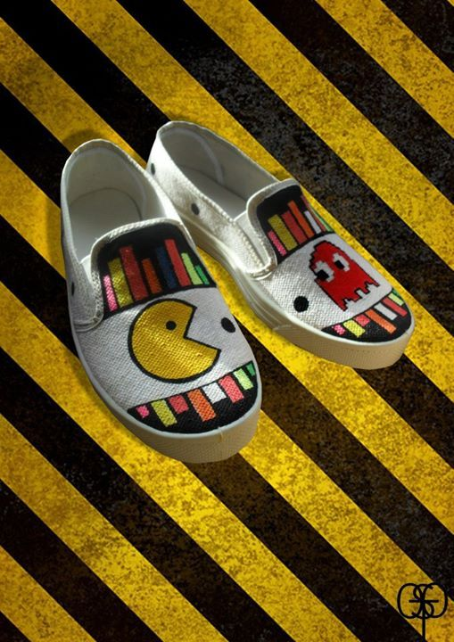 #osto #shoes #pacman