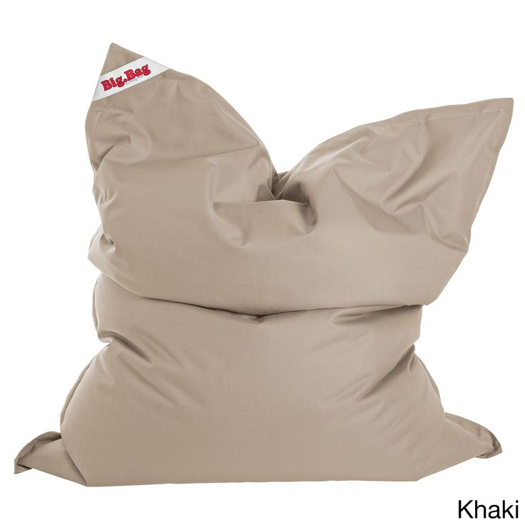 Sitting Point Oxford Fabric Bigbag Brava Extra Large Bean Bag (Khaki, XL), Beige