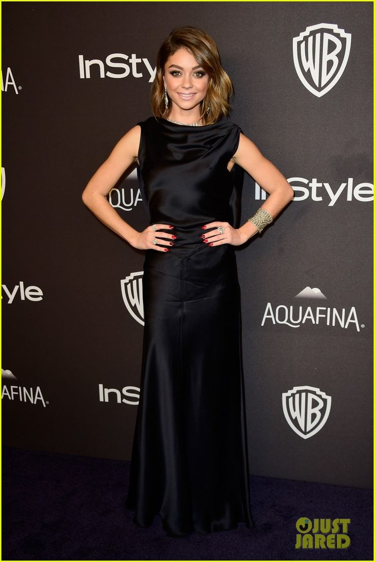 Sarah Hyland at the InStyle and Warner Bros.