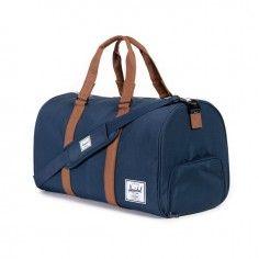 Herschel Novel Navy and Tan Duffle Bag http://www.styledit.com/shop/herschel-novel-navy-tan-duffle-bag/