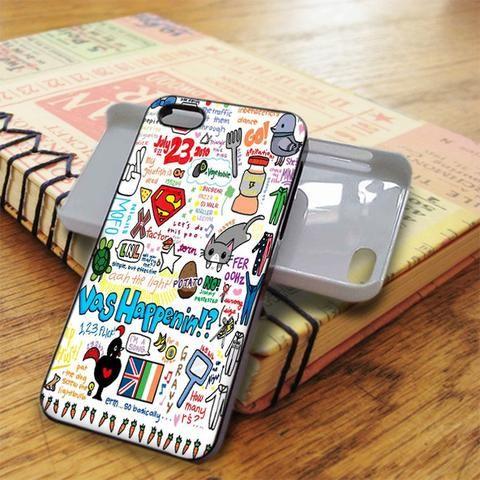 1d Lyric Art One Direction iPhone 5C Case