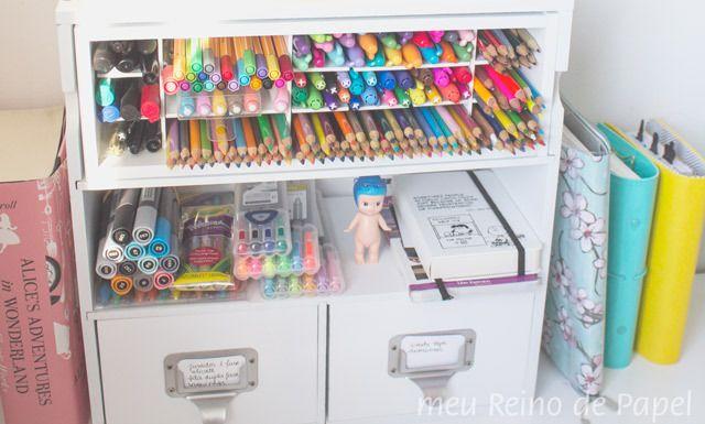 Artesanato Sustentável ~ +1000 ideias sobre Organizador De Lápis no Pinterest Organizador De Caneta, Tampas De Caixas
