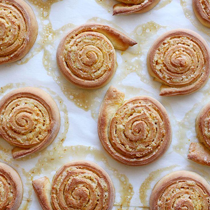 Orange Pinwheel Pastries (Arancini di Carnevale) Recipe on Food52 recipe on Food52