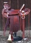 Custom made saddles, western gear, horse gear for sale and other Western products at Outwest Saddlery of Colorado.
