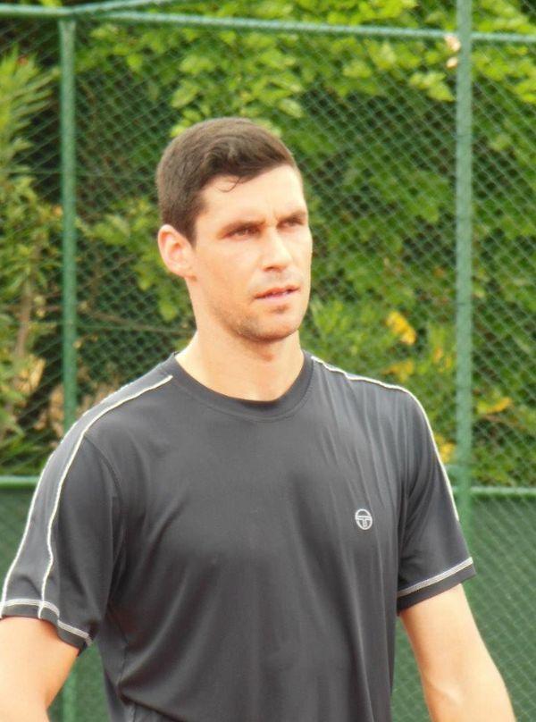 Victor Hanescu in Mauritius