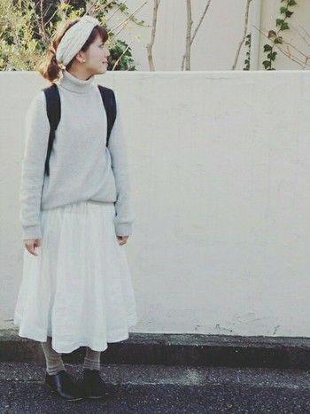 こう着れば素敵になれる 冬にこそ楽しみたい ホワイトコーディネート