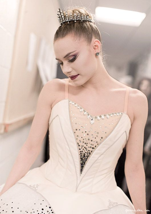Sara Mearns in costume. nyc ballet part 2 garance dore photos