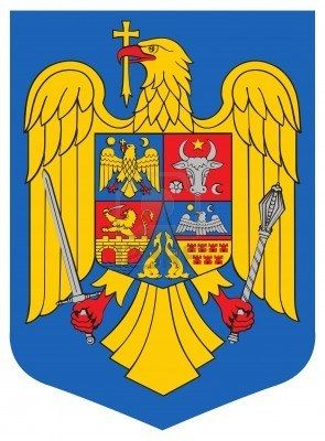 Romania national arms