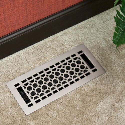 1000 images about chic floor vent covers registers on for Floor vent covers