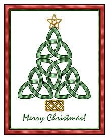 Celtic Christmas tree