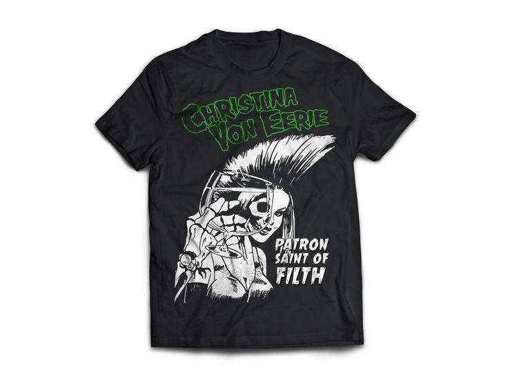 "Image of Christina Von Eerie ""Die Die"" T-shirt"
