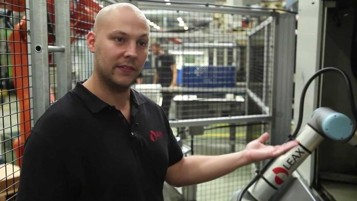 LEAX in Sweden invested in flexible automation from Universal Robots