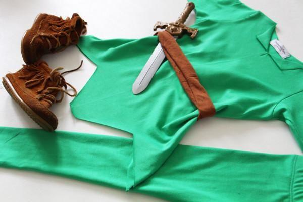 Como fazer fantasia de Peter Pan. Esta é uma fantasia bem simples de fazer ;) #fantasias #carnaval #peterpan