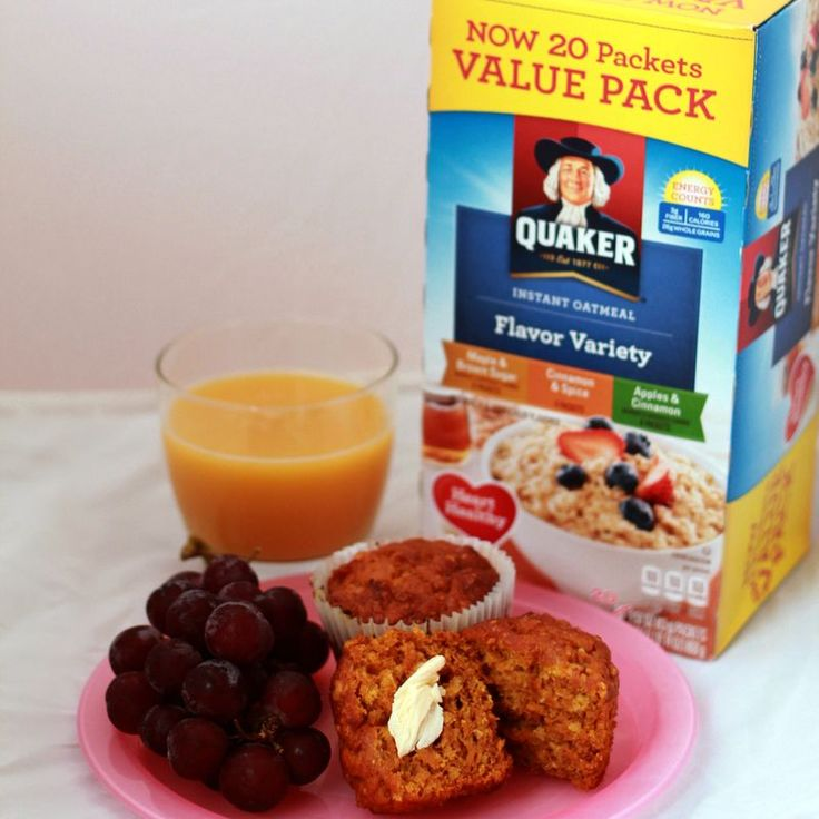 Back to School with Quaker Oatmeal Muffins