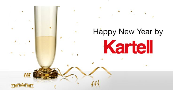 Happy New Year by Kartell