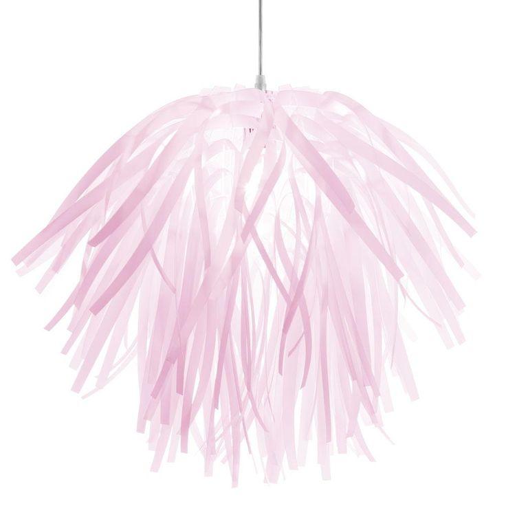 Filament Design 1-Light Pink Pendant