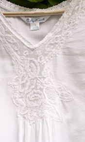 Isabella Ladies Nighty - http://www.aprilcornell.com/product/Isabella-Ladies-Nighty-NTAA5282W-White/nightwear