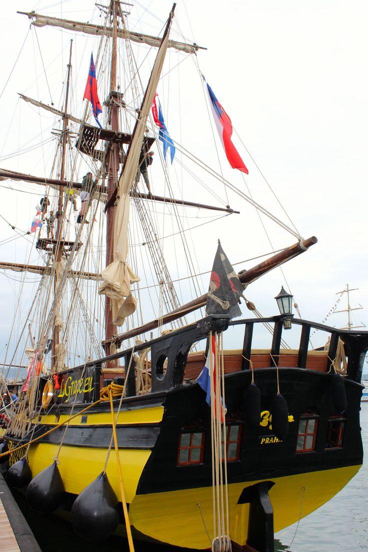 Tall ships in La Spezia