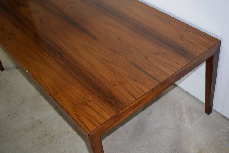 Danish mid century rosewood coffee table, Severin Hansen, made in Denmark