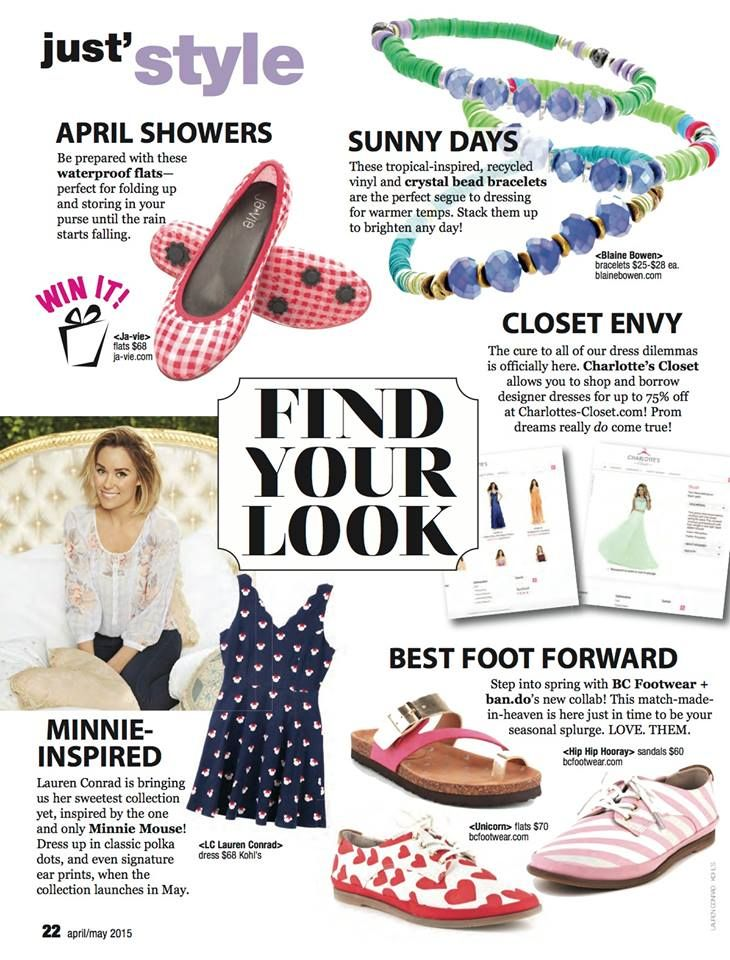 Hey Justine Magazine   Thanks For Featuring Charlotteu0027s Closet In Your  Latest Issue (on Stands