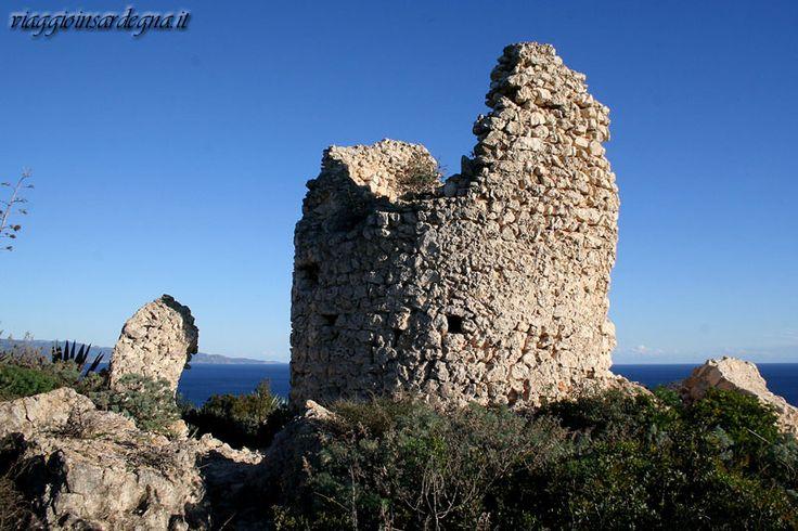 cagliari, torre costiera sant'elia