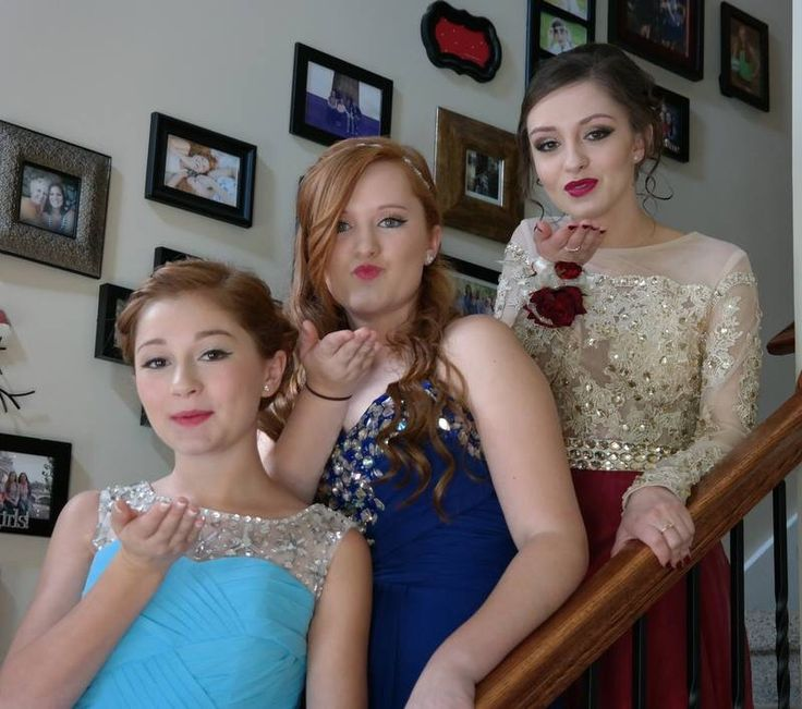 Me and my sisters at Prom yesterday!