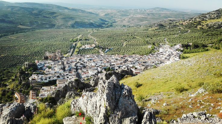 Villages surrounded by green surroundings, Andalucia Cycling