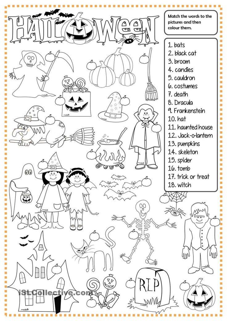 Berühmt Halloween Handwerk Für 2. Klasse Fotos - Ideen färben ...
