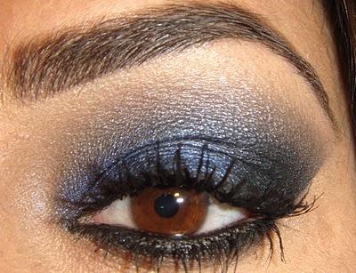 Navy smokey eye: Hair Makeup Beauty, Make Up, Wedding Eyes, Makeup Styles, Eye Makeup, Glamorous Eyes, Hair Makeup Nails, Makeup Skills Eyes, Eyes Makeup