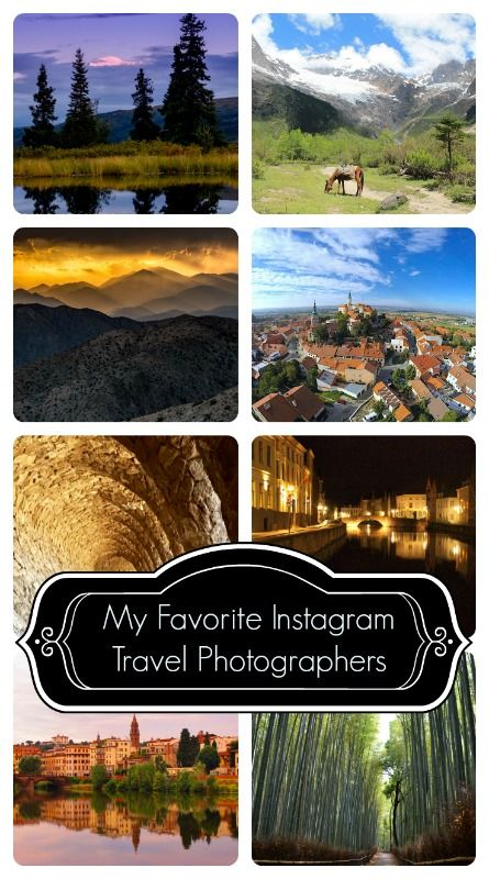 Everyone needs some great travel photo inspiration to help with travel plans! Check out this list of my 10 favorite Instagram travel photographers and their related travel blogs.