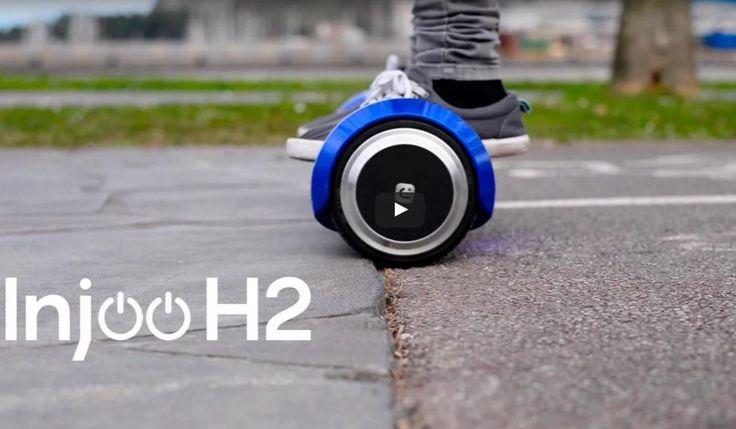 Práctico, barato y resistente. Así es el Injoo H2, el hoverboard más vendido de estas navidades. ¿Seguirá vendiéndose con éxito durante 2017? #iphone #blogtecnologia #tecnologia