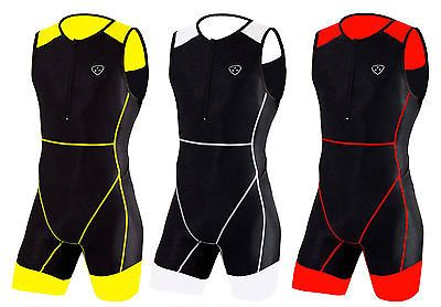 Mens triathlon suit #cycling running #compression tri suit cool max #padding ,  View more on the LINK: 	http://www.zeppy.io/product/gb/2/121697173727/