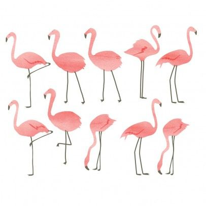 Stickers Flamants roses  MIMI'lou