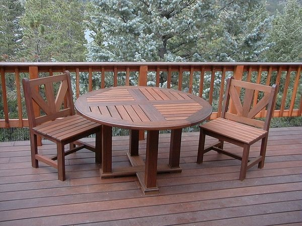 How To Clean Mildew Off Teak Furniture Deck Furniture