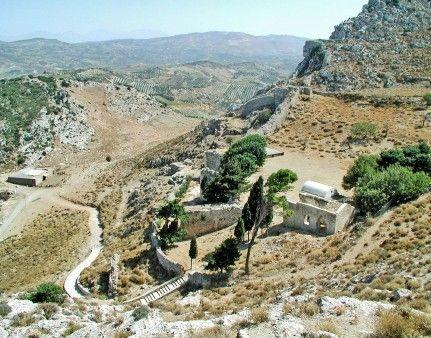 #Temenos #fortification, central #Herakleio Prefecture, #archaeology