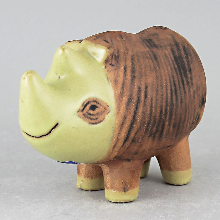 Lisa Larson (Menagerie 1965) Resourceful Rhino