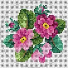 Resultado de imagen de flower for embroidery cross stitch