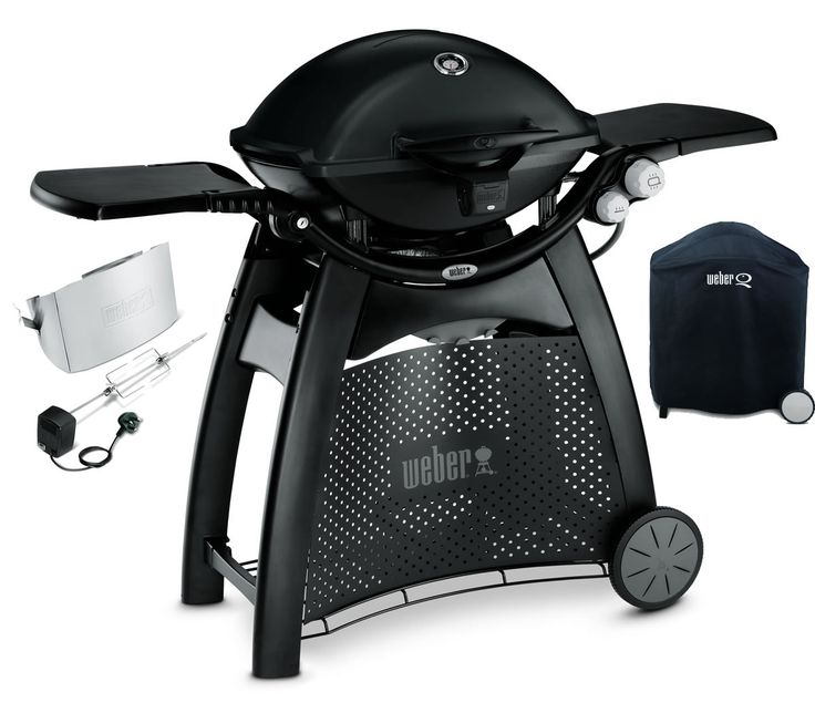 Weber Q3200 With Cover And Rotisserie - (57010074B) available to buy online from BBQ World. We sell a large range of barbecues from the best manufacturers.