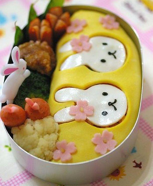 Usagi (rabbit) Bento ^^