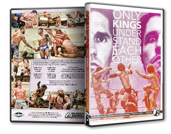 Pro Wrestling Guerrilla - Only Kings Understand Each Other Blu-Ray
