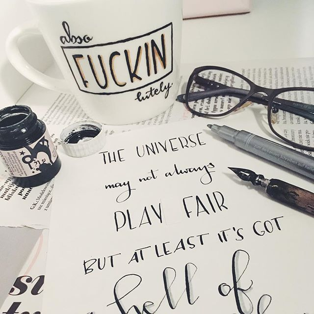 #mugs #handmade #painted #mugs #quotes #satc #sex #and #the #city # absofuckinlutely #cliche #cliche_mugs
