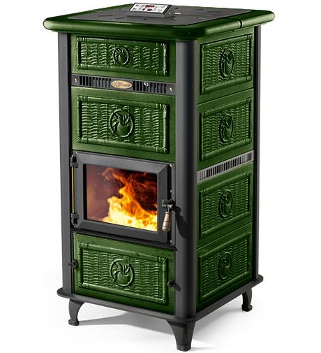 Vescovi virginia hydro pellet stove verde my house pinterest pellet stove stove and tiny - Small space wood stove model ...